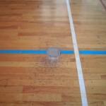 バレーボール器具交換