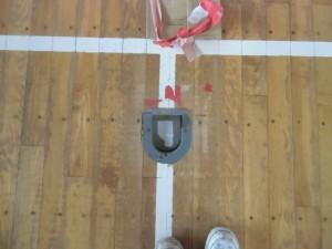 このタイプはもう製造されていないため床張替え交換