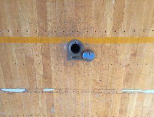 床金具の不良箇所