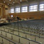 体育館の床下地・置床式と鋼製床組式の違いについて