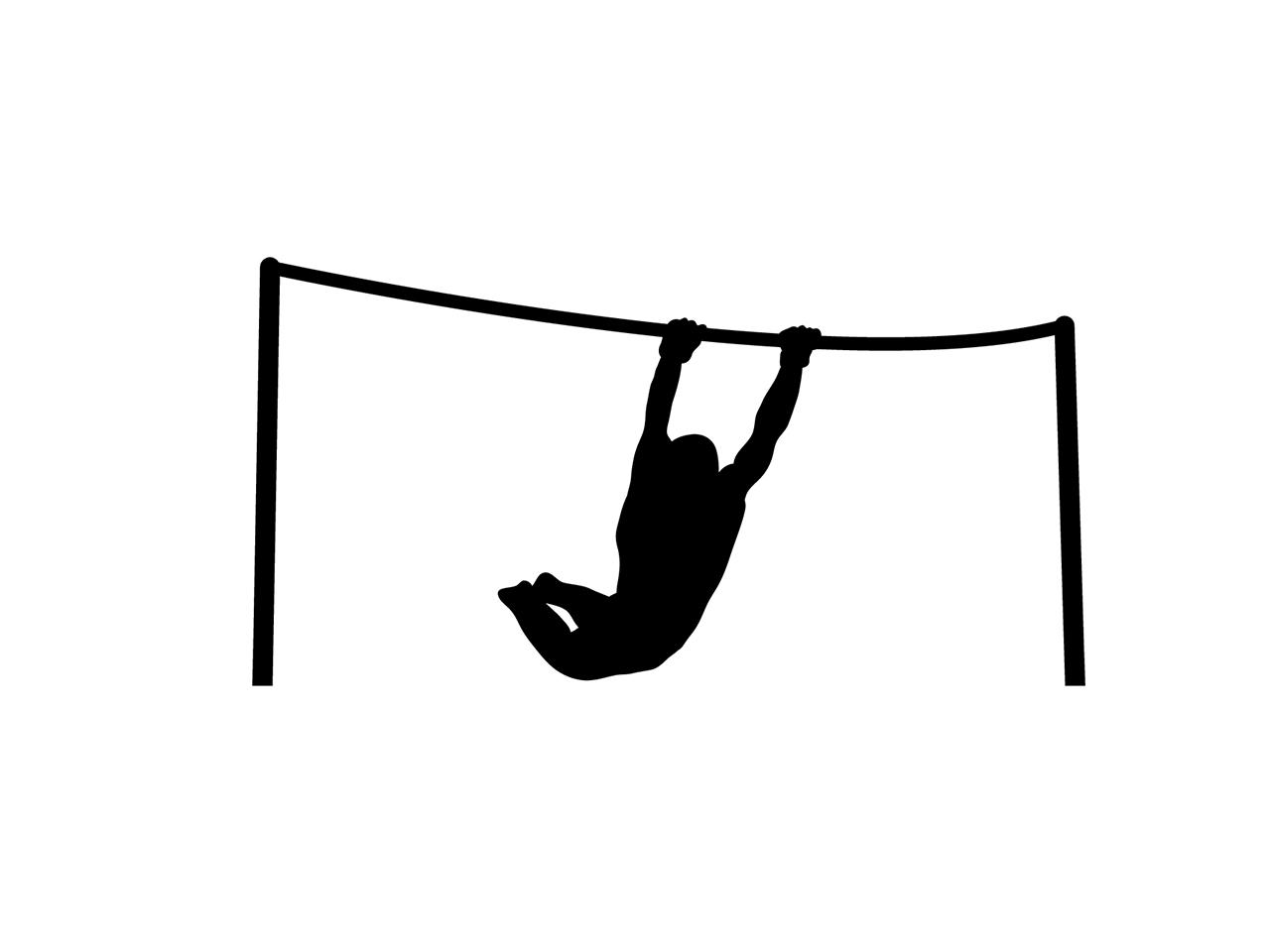 体育館鉄棒用床金具